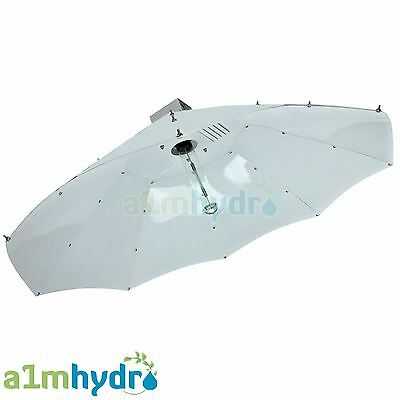 Large Grow Light Parabolic Shade Reflector Shade 100cm Hydroponics