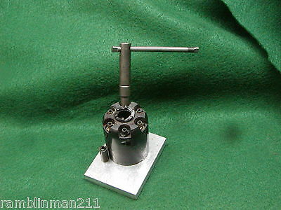 Ted Cash Black Powder Revolver Cylinder Fixture for Nipple Removal W/Instruction