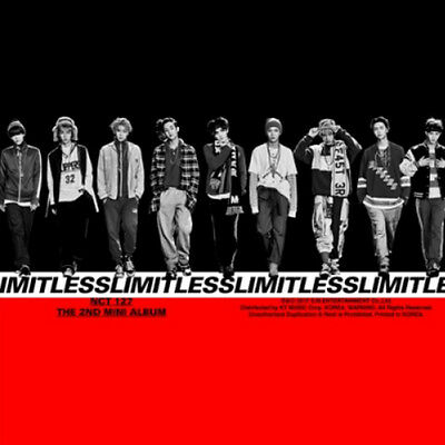 NCT127 NCT#127 KPOP 2nd Mini Album LIMITLESS [A ,B or C Version] CD