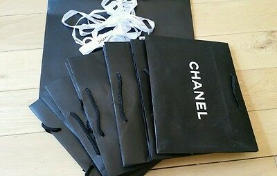 10x job lot CHANEL paper carrier gift bags
