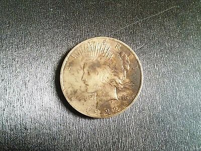 1922 United States of America US Peace 90% Silver Dollar Coin (Philadelphia)