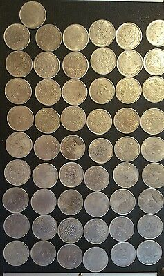 55 X Chinese Dragons Lucky Coins (bulk lot)