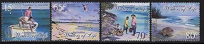 Bahamas Sg1332/5 2003 Waters Of Life Paintings Mnh