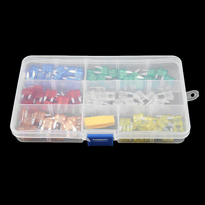 120 pcs Profile Small Size Blade Fuse Assortment Set Auto Car Truck BY
