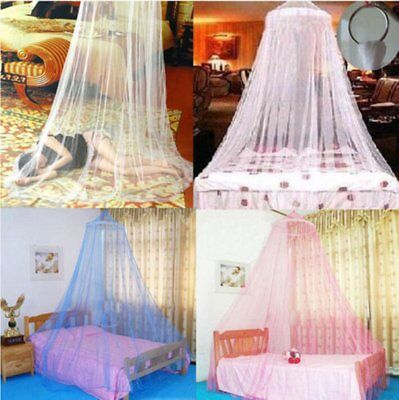 Elegant Lace Bed Canopy Netting Curtain Fly Midges Insect Cot Mosquito Net BY