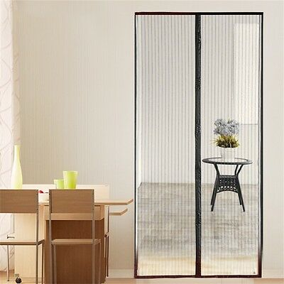 New Magnetic Fastening Hands Free Insect Screen Magic Curtain Door Mesh BY