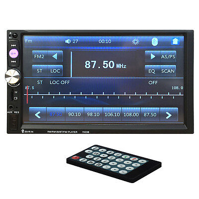 7023B coche 2 DIN reproductor de DVD 7 Pulgadas Touch SCRREN CD Reproductor BY