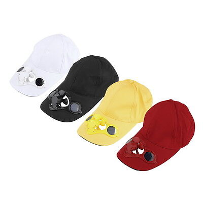 Summer Sport Outdoor Hat Cap with Solar Sun Power Cool Fan For Cycling BY