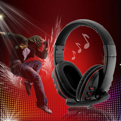 Gaming Headset Headphone With Mic For Xbox 360 Wireless Game Controller BY