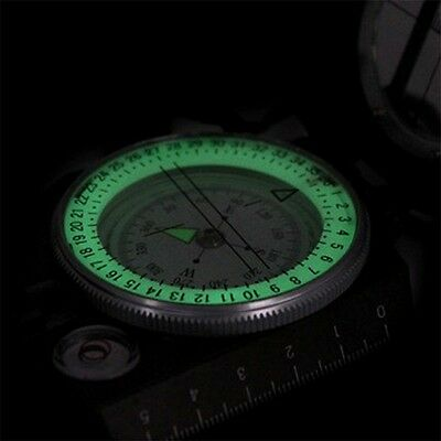 New Lensatic Compass Military Camping Hiking Metal Survival Marching BY