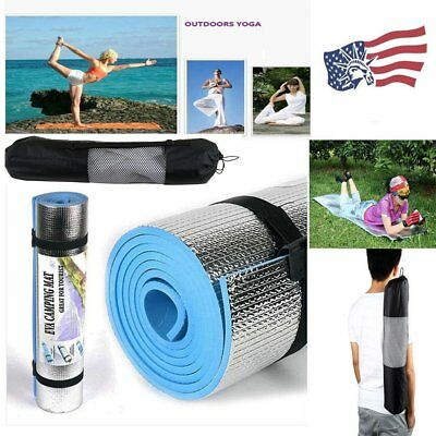 180* 60* 0.6cm Yoga Mat Pad&Bag Leisure Picnic Exercise Fitness BY
