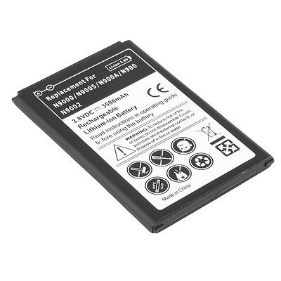 3500mah Battery For Samsung Galaxy Note III 3 N9000/9005/900A/9002 BY