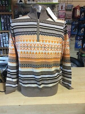 Daily Sports Ladies Fully Lined Sweater Multi Coloured Size 18