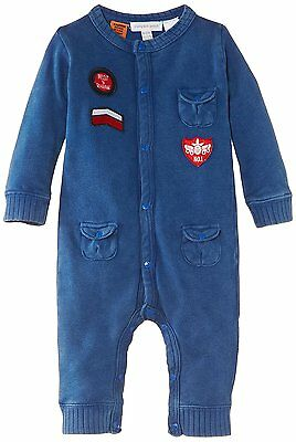 Pumpkin Patch Baby All In One Suit Pilot Blue 12-18 Months New With Tags
