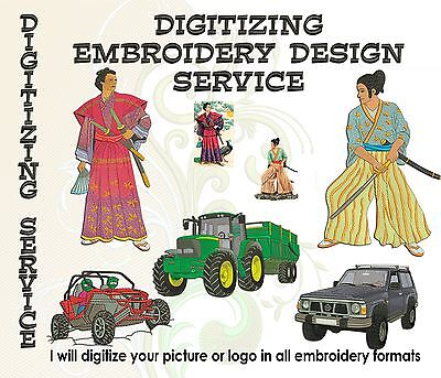 Digitizing Embroidery Designs Service