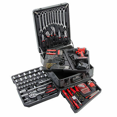Cordless Drill & Ultimate Tool Kit / Socket Set / Screw Drivers + More
