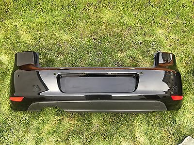Genuine Golf Mk6 Black Rear Bumper Complete With Diffuser