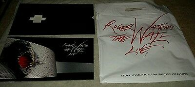 Roger Waters The Wall Tour Book (with sleeve & bag)