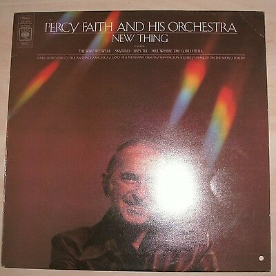 PERCY FAITH AND HIS ORCHESTRA - New Thing (Vinyl Album)