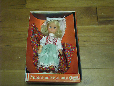Vintage Uneeda Friends From Foreign Land Doll Free Shipping