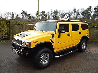 2007 Hummer H2 Luxury  6 Seater - Unique Investment/Collector quality