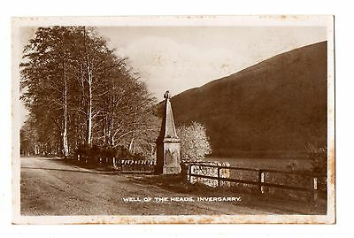 Postcard, Highlands, Well of the Heads, Invergarry - un-used