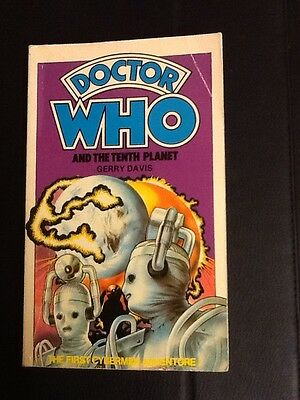 Doctor Who And The Tenth Planet Target Book
