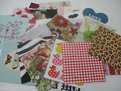40 x DIFFERENT Paper Napkins MIXED THEMED - Set 10 - DECOUPAGE/CRAFTS/COLLECTORS