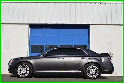 2014 Chrysler 300 Series C 300C Hemi 5.7L AWD Nav Leather Alpine MR LOADED Repairable Rebuildable Salvage Runs Great Project Builder Fixer Rear Hit Save