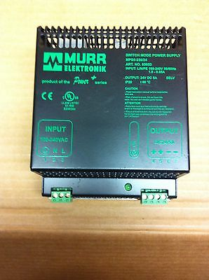 Murr Electronik MPS5-230/24 Switch Mode Power Supply