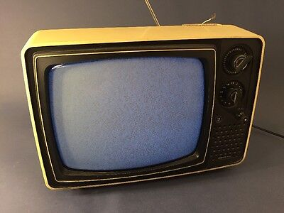 RARE 1976 Empire T-888 Vintage Working Television
