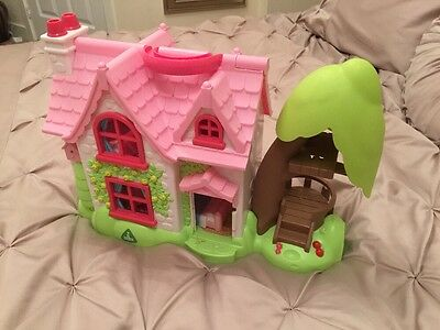 Early Learning Centre Dolls House With Tree House Happy Land