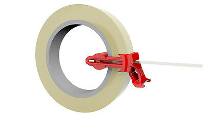Roll Mole tape dispenser for up to 20mm wide tapes- any type, any diameter