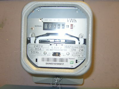 Electric Credit Meter Single Phase 80Amp