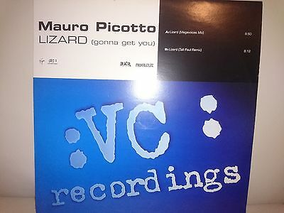 "Mauro Picotto - Lizard (gonna get you) 12"" Vinyl 1999"
