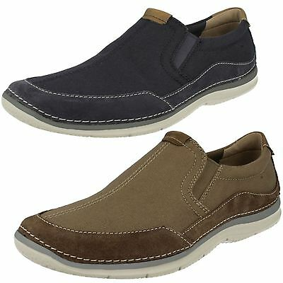 Mens Clarks Casual Shoes 'Ripton Free'