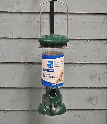 Small Easy Clean Premium Seed Wild Bird Feeder (RSPB Approved) by Gardman