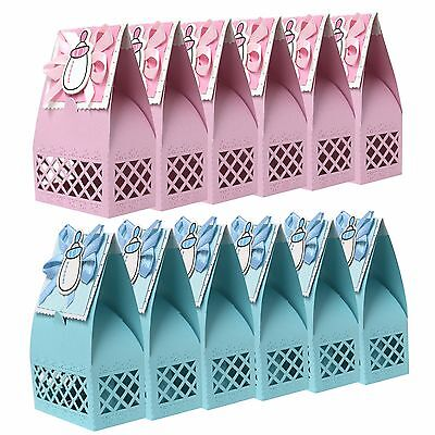 Baby Shower First Birthday Party Bag Gift Boxes For Charms, Favours & Presents