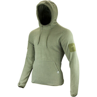 Viper Tactical Mens Hoodie Warm Travel Fleece Hiking Jumper Hunting Polar Green