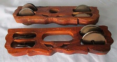 Shakers ethnic hand made percussion instruments