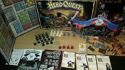 HeroQuest board game - unpainted 100% complete Hero Quest [ENG, 1989]