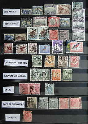 Timbres  AFRIQUE  Anciennes possessions anglaises