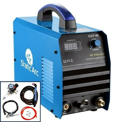 CUT 40A IGBT INVERTER AIR PLASMA CUTTER METAL CUTTING MACHINE ARC 10mm CUT