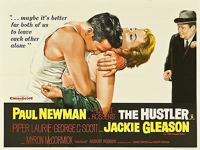 "The Hustler 16"" x 12"" Reproduction Movie Poster Photograph"