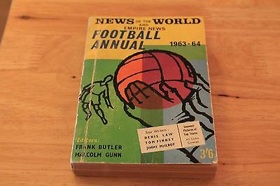 News of The world Football Annual 1963-64