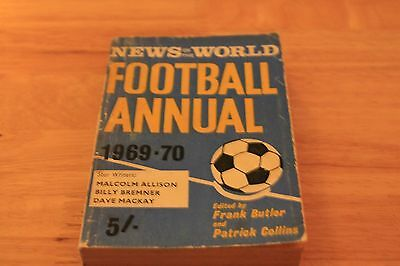News of The World Football Annual 1969-70