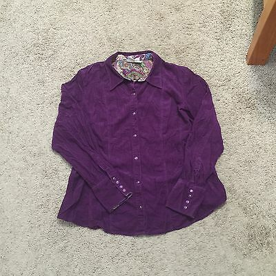 Duo Maternity Corduroy Top/Shirt - Size Large