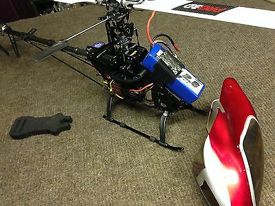 HK500GT RC Radio Controlled Heli Helicopter Used