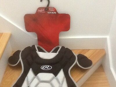 """Rawlings Adult Catcher Chest Protector #ttncp-B Black 17"""""""