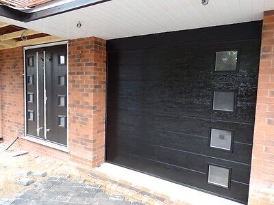 40Mm Thick Plain Sectional Garage Door Fully Sealed Not Up And Over Call